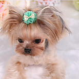 Dog Tie/Bow Tie Dog Clothes Cute Casual/Daily Fashion Solid Purple Green Blushing Pink Light Blue