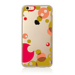 Case For  iPhone 7 7 Plus TPU Soft Back Cover Geometric Pattern For iPhone 6 Plus 6s Plus iPhone 5 SE 5s 5C 4s