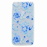 For Huawei P10 Plus P10 Lite Back Cover Case Blue Rose Soft TPU for Huawei P10 P8 LITE P8 LITE(2017) P9 LITE Y6 Y5 II Y6 II MATE 9 NOVA Honor 6X