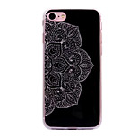 Для яблока iphone 7 7plus case cove mandala pattern flash порошок imd процесс tpu материал телефон чехол iphone 6 6s плюс se 5s 5
