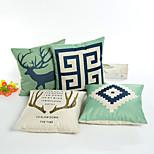 1 Pcs  45*45cm Nordic Scribble Letters Series  Pillow Case