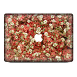 1 pieza Anti-Arañazos Floral De Plástico Transparente Adhesivo Diseño ParaMacBook Pro 15'' with Retina MacBook Pro 15 '' MacBook Pro 13''