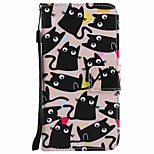 For Huawei P10 Plus P10 Lite Case Cover Card Holder Wallet with Stand Flip Pattern Full Body Case Cat Hard PU Leather P10 P8 lite 2017 P9 lite