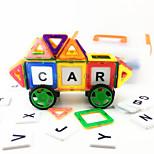 62PCS 3D Magnetic Novelty Assembly Building Blocks DIY Early Educational Construction Toys Set Kid Magnet Model Designer Building Jigsaw Toys Kit