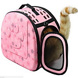 Other Pet Carrier Comfortable printing Black Gray Yellow Ruby Blushing Pink