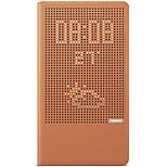 Para la cubierta maxima del caso de huawei p8 con el soporte auto del estallido del sueño / despierta la caja llena del cuerpo de la caja