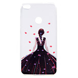 For Huawei P10 P10 Plus Case Cover Dream Girl Series Painted High Penetration TPU Material Soft Case Phone Case P8 Lite (2017)