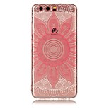 For Huawei P10 Lite P10 Case Cover Transparent Pattern Back Cover Case Mandala Soft TPU for Huawei P9 Lite P8 Lite