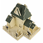 Jigsaw Puzzles 3D Puzzles Building Blocks DIY Toys Architecture Wood Model & Building Toy