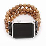 Watch Band for Apple Watch 38/42mm Series 1/2 Luxury Agate Design with Spiral Flexible Cord Strap for Iwatch Women/Men