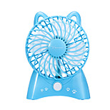 YAGE 5317 Ventilation Fan Light and Convenient Multiple Charging Modes Wind Speed Regulation USB Universal Standard Handheld Design 18650 Battery 1Pcs