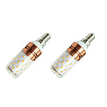 8W LED Corn Lights E14 60 SMD2835 980 Lm White/Warm White AC85-265V 2Pcs