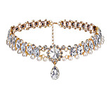 Women's Choker Necklaces Drop Alloy Euramerican Fashion Jewelry For Party 1pc