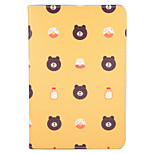 For Apple iPad (2017) Pro 9.7'' Case Cover with Stand Flip Pattern Full Body Case Cartoon  Food Tile Hard PU Leather  Air 2 Air ipad2 3 4 mini1 2 3/4