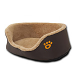 Dog Bed Pet Mats & Pads Footprint/Paw Warm Breathable Comfortable Durable Thick