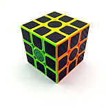 Rubik's Cube Smooth Speed Cube Magic Cube Scrub Sticker Plastics Carbon Fiber