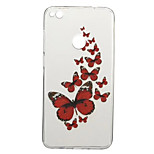 Case for Huawei P10 P8 Lite (2017) Pattern Back Cover Butterfly Soft TPU P10 Plus P9 P9 Lite Y5 II Honor 5C