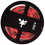 36W Tiras LED Flexibles lm DC12 V 5 m 300 leds Rojo