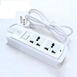 Power Strip 250V 10A with Switch 1.8M Cable US Plug UK Plug EU Plug