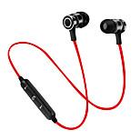 Sirkel s6 magnet bluetooth øretelefon trådløs bluetooth hodesett sport kjører stereo super bass øretelefoner med mikrofon for mobiltelefon