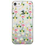 Для iphone 7 плюс 7 чехол чехол прозрачный узор задняя крышка чехол фламинго фрукты мягкий tpu для iphone 6s плюс 6s 6 плюс 6 5s 5 se