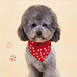 Dog Tie/Bow Tie Dog Clothes Cute Fashion Casual/Daily Bone Blue Red
