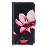 For HUAWEI P10 P9 Lite Case Cover Flower Pattern PU Material Card Stent Wallet Phone Case Galaxy 6X Y5II P8 Lite (2017)