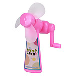 Environmental Protection Manual Portable No Batteries Hand Shake Fan Summer Cool Artifact