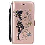 For Huawei P10 Lite P10 Card Holder Wallet with Stand Flip Embossed Case Full Body Case Sexy Lady Hard PU Leather for P8 lite 2017  Y6II Y5II Y3II