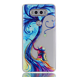 For LG G6 V20 Glow in the Dark / Translucent Case Back Cover Case Young Couple Tree Soft TPU LG X Screen K5 K7 K8 K10 G5