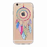 For iPhone 7 Plus 7 Case Cover Translucent Pattern Back Cover Case Dream Catcher Soft TPU for iPhone 6s Plus 6 5S 5 SE