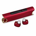 binauraalinen Bluetooth-kuuloke laturi ja mikrofoni tulppakuulokkeet hifi melun vähentäminen kuulokkeet