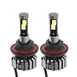 KKmoon Pair of H13 DC 12V 40W 4000LM 6000K LED Headlight Lamp Kit Light Bulbs