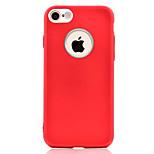 Для iphone 7 7 плюс телефон корпус масляная поверхность tpu металлизированная кнопка и камера металлическая защита мягкий телефон корпус 6