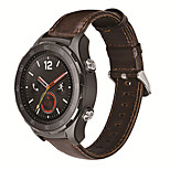 For  Huawei Watch2 20mm MSTRE Watch Band Strap Genuine leather Solid color Leather Sport Band