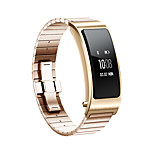 For Huawei B3 Watch Band Strap Solid color Stainless Steel Sport Band