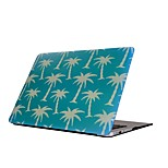 For MacBook Air Pro 11.6 13.3 15.4 inch Retain Case Cover Cartoon Drawing Painting Decorate Protector for New MacBook Coconut Tree Pattern