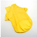 Dog Shirt / T-Shirt Dog Clothes Sports Fashion Solid Red Yellow
