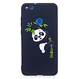 For Huawei P8 Lite(2017) P9 Lite  Case Cover Panda Pattern Painted Embossed Feel TPU Soft Case Phone Case P10 Lite P10 Y5  Honor 6X