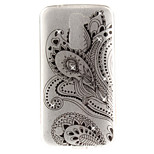 For LG K10 K7 Case Cover Half Flower Pattern HD Painted Drill TPU Material IMD Process High Penetration Phone Case K8