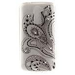 Per lg k10 k7 copertura caso half floral pattern hd verniciato trapano tpu materiale imd processo alta penetrazione telefono caso k8