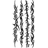 Временные тату Тату с тотемом С рисунком Нижняя часть спины WaterproofЖенский Мужской Подростки Вспышка татуировки Временные татуировки