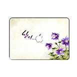 For MacBook Pro Air 11 13 15 Inch Laptop Cases Plastic Protective Shell Flower Pattern Ornament Cover H2243