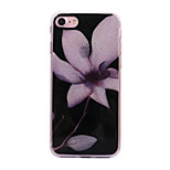 Voor apple iphone 7 7plus case cove bloemen patroon flash poeder imd proces tpu materiaal telefoon hoesje iphone 6 6s plus zie 5s 5