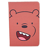 Case For Apple iPad Mini1 2 3 4 Flip Pattern Auto Sleep Wake Up Full Body Case  Cartoon Hard PU Leather