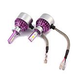 Kits de la conversión de la linterna de 2pcs c6 h3 7200lm con la viruta del csp de bridgelux de los bulbos de la linterna