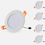 5pcs 7W 3cun Led Downlight Warm/Cool White Color Spot Light Led Ceiling Lamp Recessed Lamp AC85-265V