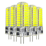 YWXLight® 5 Pcs G4 5W 72LED 5730 SMD 400-500 Lm Cool White Warm White LED Bi-Pin Lights DC 12-24 V / AC 12V