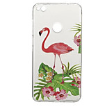 Case for Huawei P10 P8 Lite (2017) Pattern Back Cover Flamingo Animal Soft TPU P10 Plus P9 P9 Lite Y5 II Honor 5C