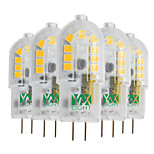 YWXLight® 5 Pcs G4 3W 18 LED 2835 SMD 200-300 Lm Warm White Cool White Natural White Dimmable LED Bi-Pin Lights AC/DC 12 V
